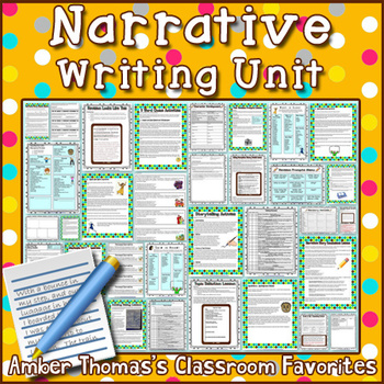 Personal Narratives Unit (Aligned to Gr. 4 CCSS)