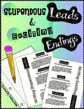 Personal Narratives: Writing Leads & Endings