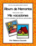 Writing Personal Narratives (Spanish)-Album de Memorias
