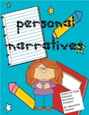 Personal Narratives for the classroom