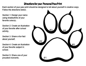 Personal Paw Print
