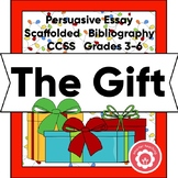 Christmas Opinion Essay CCSS Grades 3-6 Print and Digital Learning