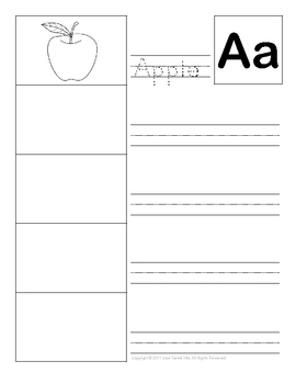 Personal Pictionary Dictionary Word Wall Booklet