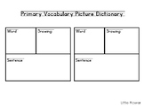 Personal Picture Dictionaries