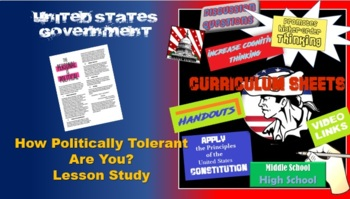 AP Gov - Who are you politically? Student centered activity Government