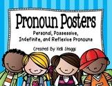 Personal, Possessive, Indefinite, and Reflexive Pronoun Posters