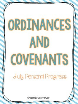 Personal Progress: July