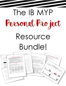 Personal Project Resource BUNDLE