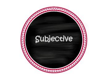 Personal Pronoun Cases Sort Activity