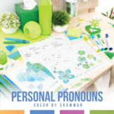 Color by Grammar: Subjective, Objective, Possessive Pronouns