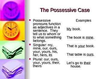 Personal Pronoun Powerpoint (grades 6-8)