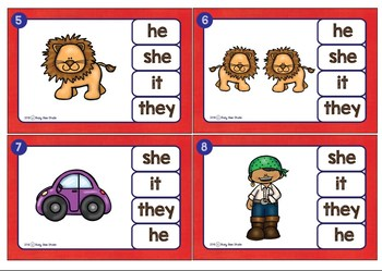 ESL Resources: Personal Pronouns - Easy Grammar for Young Learners