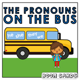Personal Pronouns  |  Boom Cards | Language | Speech Thera
