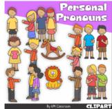 Personal Pronouns Clip Art