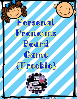 Personal Pronouns Freebie