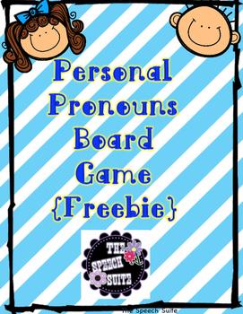 Personal Pronouns Freebie