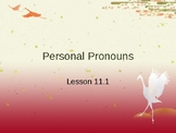 Personal Pronouns Interactive Powerpoint Lesson