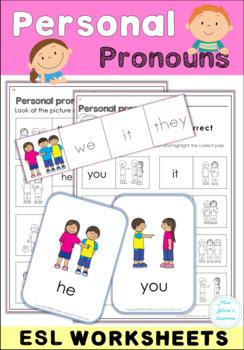 Personal Pronouns Set