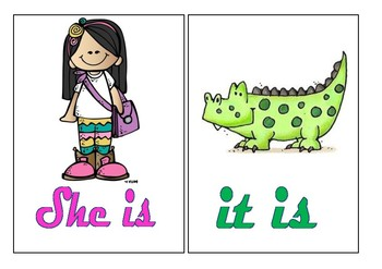 Personal Pronouns and To be