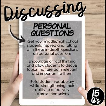 Personal Questions- A Conversation Class