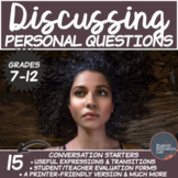 Personal Questions- Conversation Starters
