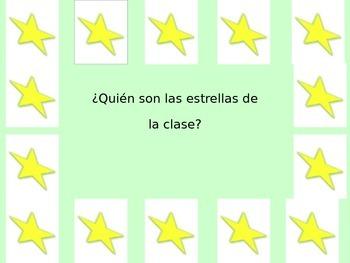 Personal Questions - Estrellas de la Clase