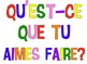Personal Questions in French: 21 full page, colorful prompts