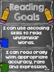 Reading Goals Clip Chart - 2nd Grade