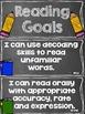 Reading Goals Clip Chart - 3rd Grade