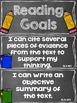 Reading Goals Clip Chart - 7th Grade