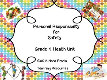 Personal Responsibility for Safety