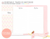 Personal Ruled Notes Traveler Notebook Refill