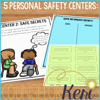 Personal Safety Centers: Safety Classroom Guidance Lesson