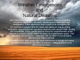 Personal Safety: Weather Emergencies and Natural Disasters PowerPoint