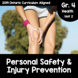 {Grade 4} Unit 2: Personal Safety and Injury Prevention