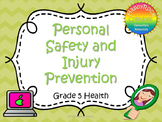 Personal Safety and Injury Prevention Task Cards (Grade 5)