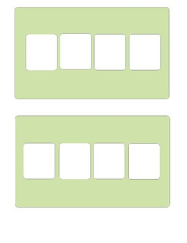 Boardmaker Personal Schedule for Early Childhood