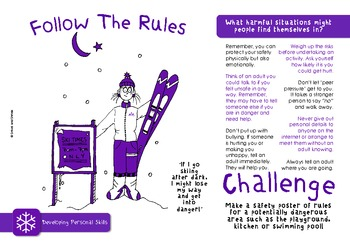 Personal Skills Challenge Pack - targets, posters & worksheets for self skills