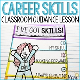 Career Classroom Guidance Lesson: Career Skills Activity for School Counseling