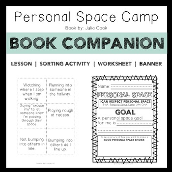 Personal Space Camp: Read-Aloud Companion Activities