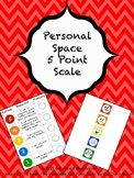 Personal Space 5 Point Scale