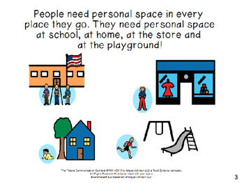 Personal Space: A Social Story