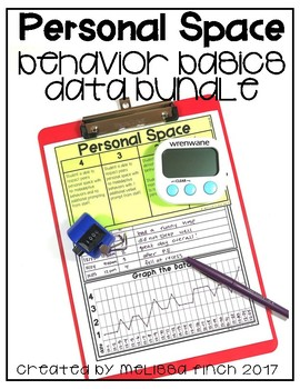 Personal Space- Behavior Basics Data Bundle