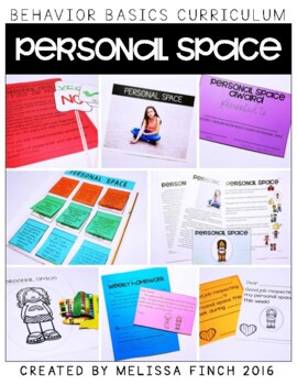 Personal Space-  Behavior Basics Program for Special Education