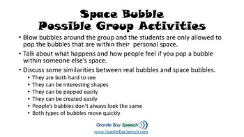 Personal Space Bubble