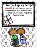 Personal Space Camp Book Companion Discussion Comprehension Cards