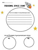 Personal Space Camp- Respecting others personal space