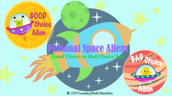 Personal Space - Good Choice or Bad Choice PowerPoint Activity