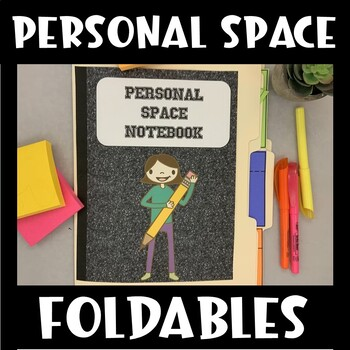 Personal Space Interactive Notebook (Social Thinking)