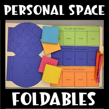Social Skills Interactive Notebook (Personal Space)